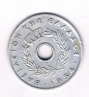 20 LEPTA 1954 GRIEKENLAND /0745/ - Grèce