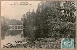 36 / Environs D'Argenton - Le Menoux - La Creuse Au Pont Du Moulin Neuf (tampon 1906) - France