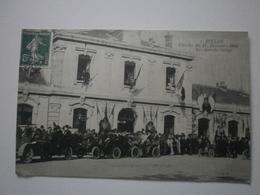 12 Millau, Fêtes Des 16, 17, 18 Octobre 1909. Les Autos Du Cortège (7878) - Millau