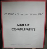 MOC - JEU WALLIS Et FUTUNA MOCLAIR 1994 (Avec Pochettes) - Pré-Imprimés