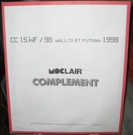 MOC - JEU WALLIS Et FUTUNA MOCLAIR 1998 (Avec Pochettes) - Pré-Imprimés