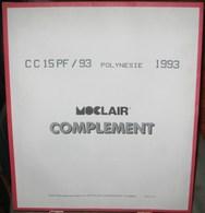 MOC - JEU POLYNESIE FRANCAISE MOCLAIR 1993 (Avec Pochettes) - Pré-Imprimés