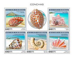 GUINEA BISSAU 2018 - Shells. Official Issue - Schelpen