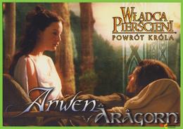 Voyo POLAND The LORD Of The RING - Return Of King  ARWEN & ARAGORN MINT LOTR 095 Liv Tyler & Viggo Mortensen - Affiches Sur Carte