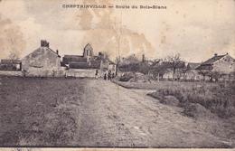 CHEPTAINVILLE - ROUTE DE BOIS BLANE - France