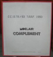 MOC - JEU T.A.A.F. MOCLAIR 1993 (Avec Pochettes) - Pré-Imprimés
