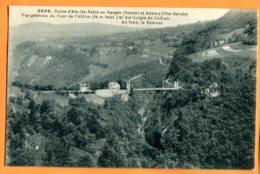 X080, Route Aix-les-Bains Et Annecy,Pont De L'Abime, Gorges Du Chéran, Semnoz, 4998, Circulée 1927 - Otros Municipios