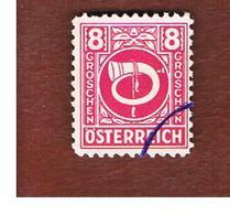 AUSTRIA -  SG 911   -  1945  POSTHORN 8   -  USED ° - 1945-60 Gebraucht