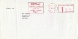 GOOD GB Postal Cover To ESTONIA 1995 With Franco Cancel - 1952-.... (Elizabeth II)