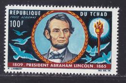 TCHAD AERIENS N°   25 ** MNH Neuf Sans Charnière, TB (D8379) Centenaire De La Mort D'Abraham Lincoln -1965 - Chad (1960-...)