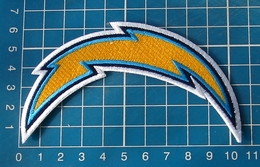"""NFL San Diego Chargers Logo 4"""" Superbowl Football Jersey Patch Sew On Embroidery - San Diego Chargers"""