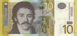 Serbie 10 Dinara (P46) 2013 -UNC- - Serbie