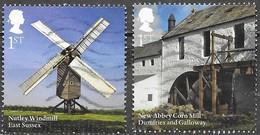 GB - Moulins - Y&T N° 4461 / 4462 - Oblitérés - Lot 1173 - 1952-.... (Elizabeth II)