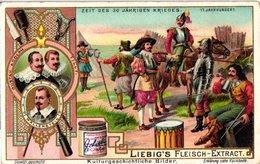 0711 - Liebig 6 Cards  C1902-(German Scenes From The History Of Civilisation-Croisades-Minnesingers-Guerre De Trente Ans - Liebig