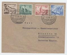 Deutsches Reich , FDC Nr. 739/42  (  50.-) - Deutschland