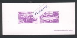 Document Postal Vignette Traction Citroën Et Cadillac - Automobili