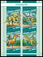 SIERRA LEONE 2018 MNH Dinosaurs Dinosaurier Dinosaures M/S - OFFICIAL ISSUE - DH1903 - Stamps