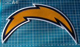 """San Diego Chargers 10"""" Huge Superbowl NFL Football Jersey Logo Patch Embroidered - San Diego Chargers"""