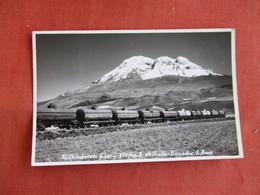 RPPC  Has Stamp & Cancel--  Train  Ecuador  Ref 3143 - Ecuador