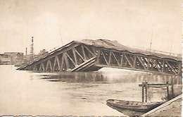 Cpa 44 Nantes Après Les Bombardements , Ww2 , Le Pont De Pirmil Après Le Départ Des Allemands - Nantes
