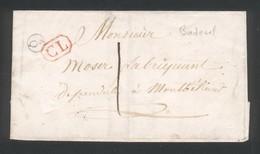 LSC Lettre Locale Boite Rurale Supplémentaire Q/2 Et CL Correspondance Locale - 1801-1848: Precursors XIX