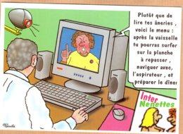 B55699 CPM -  Montmorillon - Salon De L'image Et De L'écrit, Création Pierre Gauthie - Unclassified