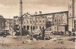Cpa 44 Nantes Après Les Bombardements , Ww2 , Magasins Généraux Quai E.Renaud , Vierge - Nantes