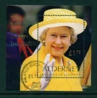 ALDERNEY  -  2001  Golf Club  Miniature Sheet  Used As Scan - Alderney