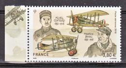 France PA  2018 Boyau Et Coiffard Avec Bord De Feuille (feuille De 10) Neuf ** TB MNH Sin Charnela Faciale 3.8 - 1960-.... Mint/hinged
