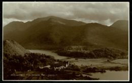 Ref 1263 - Judges Real Photo Postcard - Llanberis From Panorama Point - Caernarvonshire Wales - Caernarvonshire