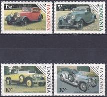 Tansania Tanzania 1986 Transport Verkehr Automobile Autos Cars Rolls-Royce Phantom Silver Ghost Oldtimer, Mi. 309-2 ** - Tansania (1964-...)