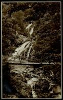 Ref 1263 - Judges Real Photo Postcard - Rhaiadr Ddu Falls Tyn-Y-Groes - Caernarvonshire Wales - Caernarvonshire