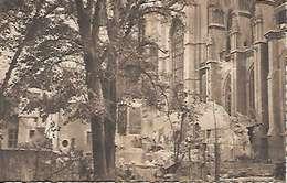 Cpa 44 Nantes Après Les Bombardements , Ww2 , La Sacristie De La Cathédrale , Vierge - Nantes