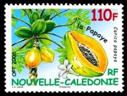 NOUV.-CALEDONIE 2008 - Yv. 1042 NEUF   Faciale= 0,92 EUR - Fruits. Papaye  ..Réf.NCE24308 - Neufs