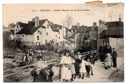 AUBE - Dépt N° 10 = TROYES 1907 = CPA  N° 100 = Vieilles Maisons Sur Le Ru Des Cailles - Troyes