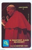POLAND 8 - 200u MINT Pope Jean Paul II Jan Pawel PApa Pape Papst Neuve Urmet 1991 - Pologne