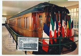 Carte Maximum RETHONDES - Carrefour De L'armistice - Oblit. Spéciale Illustrée - Cartoline Maximum