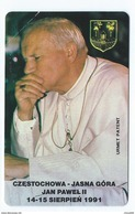 POLAND 7 - 100u MINT Pope Jean Paul II Jan Pawel PApa Pape Papst 1991 Neuve Urmet - Pologne