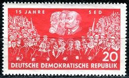 DDR - Mi 821 - ** Postfrisch (B) - 20Pf                15 Jahre SED - DDR