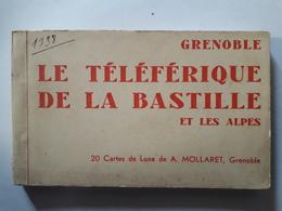 CARNET Complet De 20 CPA De Grenoble (Isère 38) Le Téléférique De La Bastille 1938 - Grenoble