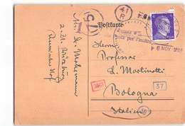5227 02 DEUTSCHLAND DEUTSCHES REICH WURZBURG - Deutschland