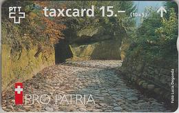 SUISSE - PHONE CARD - TAXCARD-PRIVÉE *** BIENFAISANCE & PRO PATRIA 1996 *** - Schweiz