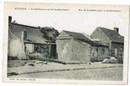 Stavele  Rue E Crombeke Apres Le Bombardement - Weltkrieg 1914-18