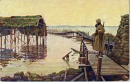 Armée Belge  Sentinelle - Guerre 1914-18