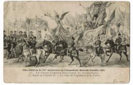 Fétes  Jubilaires Du 75 Anniversaire  De  L'independace  1905 - Feesten En Evenementen