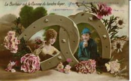 Militair Soldiers Soldat   Couples  / Koppels  Le Bonheur  Est La Flamme Du Tendre Foyer - Couples