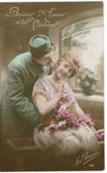 Militair Soldiers Soldat   Couples  / Koppels   Biaser  D'amour - Couples