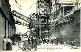 """N°69062 -cpa Le Havre -transatlantique """"'la Provence"""" Débarquement Des Passagers Et Des Bagages- - Steamers"""