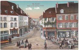 57 - St-Avold - Blick In Die Lubelner Strasse - 1918 (Moselle Allemande) - Saint-Avold