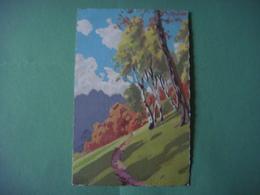 Carte Dessin PAYSAGE - Landschap - Landscape Scenery --- Liberté - Fantasia